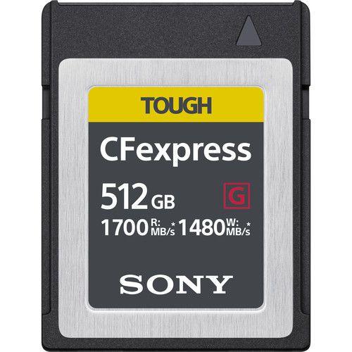 Carte mémoire CFexpress Type B TOUGH de 512 Go de Sony
