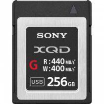Carte SONY XQD 256GB R440 W400