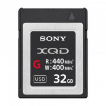 Carte SONY XQD 32GB R440 W400 5x stronger