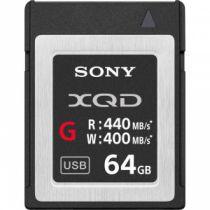 Carte SONY XQD 64GB R440 W400