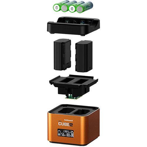 Chargeur professionnel hahnel PROCUBE2 pour certaines batteries Sony