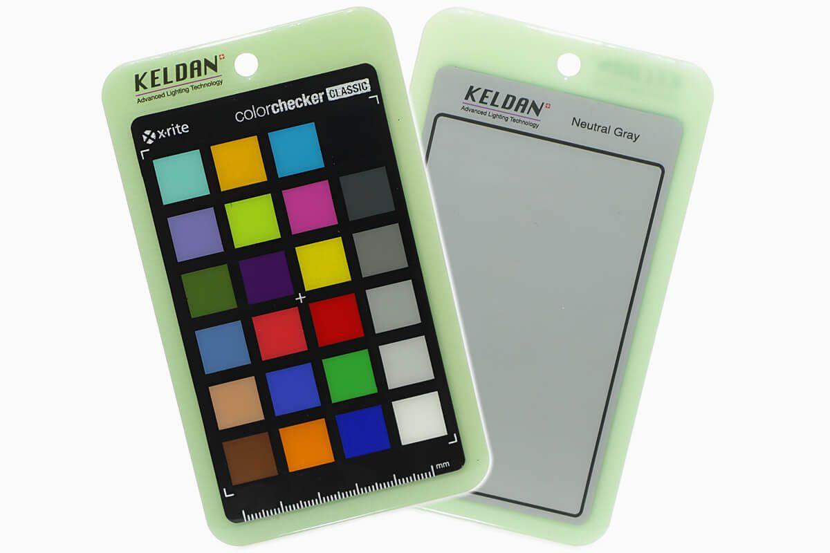 Charte de gris et vérification des couleurs Keldan