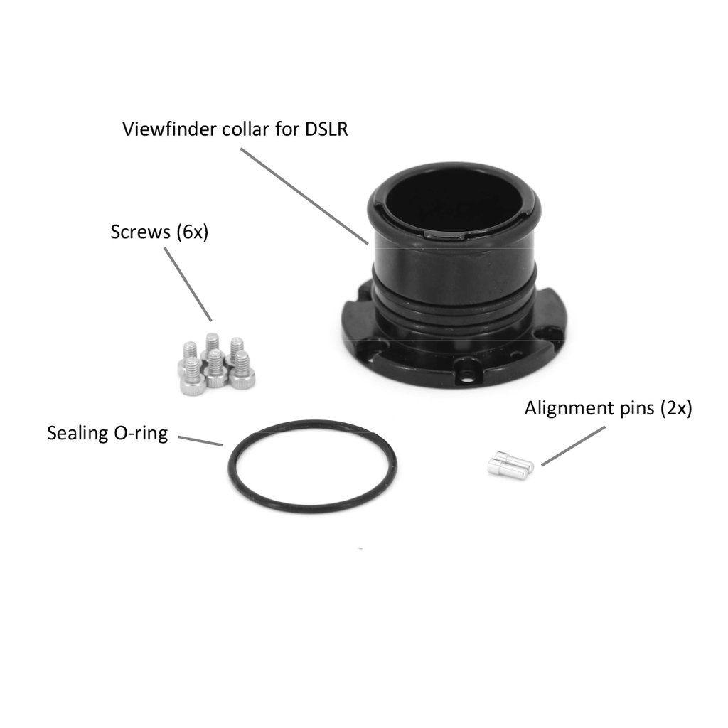 Col de viseur pour caisson DSLR (de SN A124466, A218826)