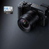 conception de l'Objectif Panasonic Leica DG Summilux 12mm f/1.4 ASPH étanche à la poussière et à la pluie photo denfert