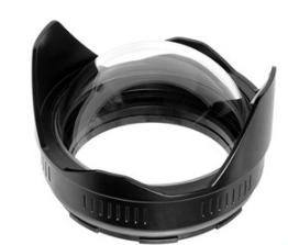 Dome acrylique 4.33\'\' pour tokina at-x 10-17mm