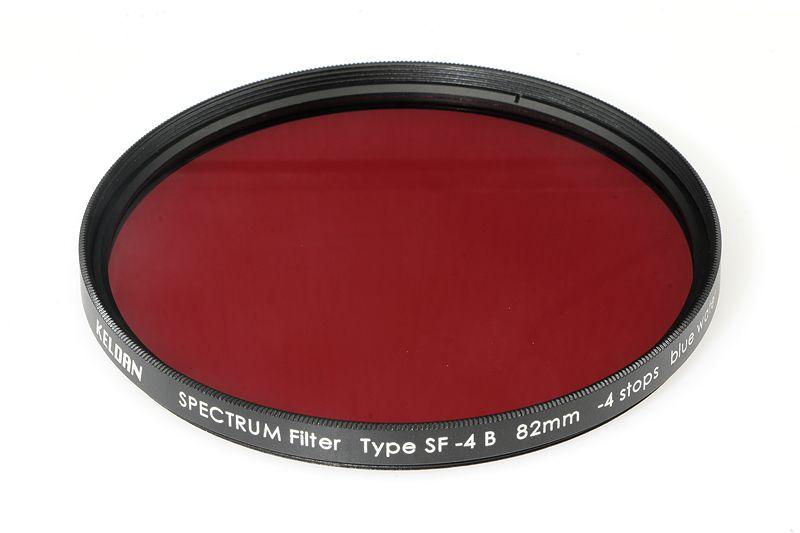 Filtre à spectre SF -4 B, 58 mm
