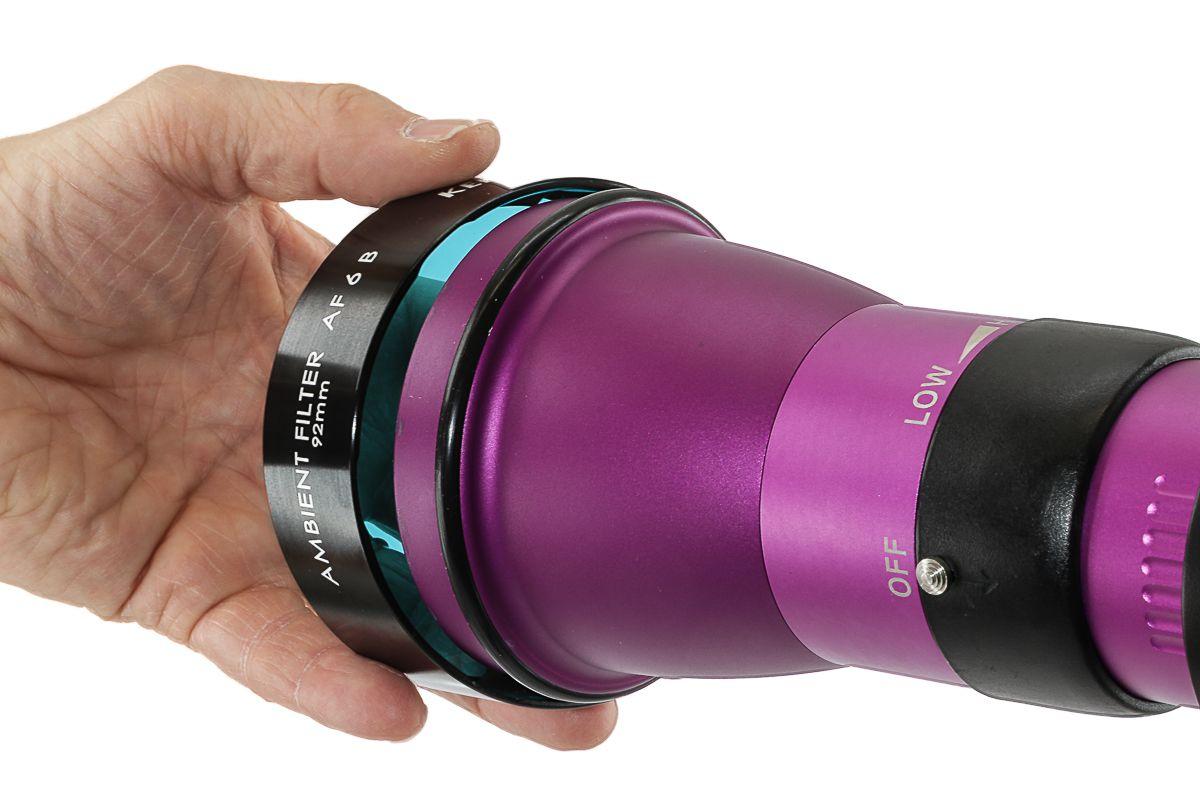 Filtre ambiant AF 6 B 92 mm (50°)