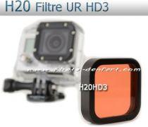 Filtre H20  UR pour Gopro HD3+