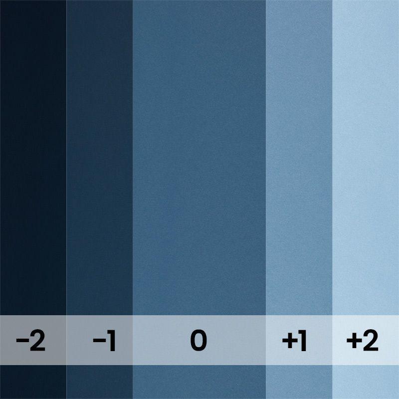 Fond papier bleu Deep Blue - 126 BD