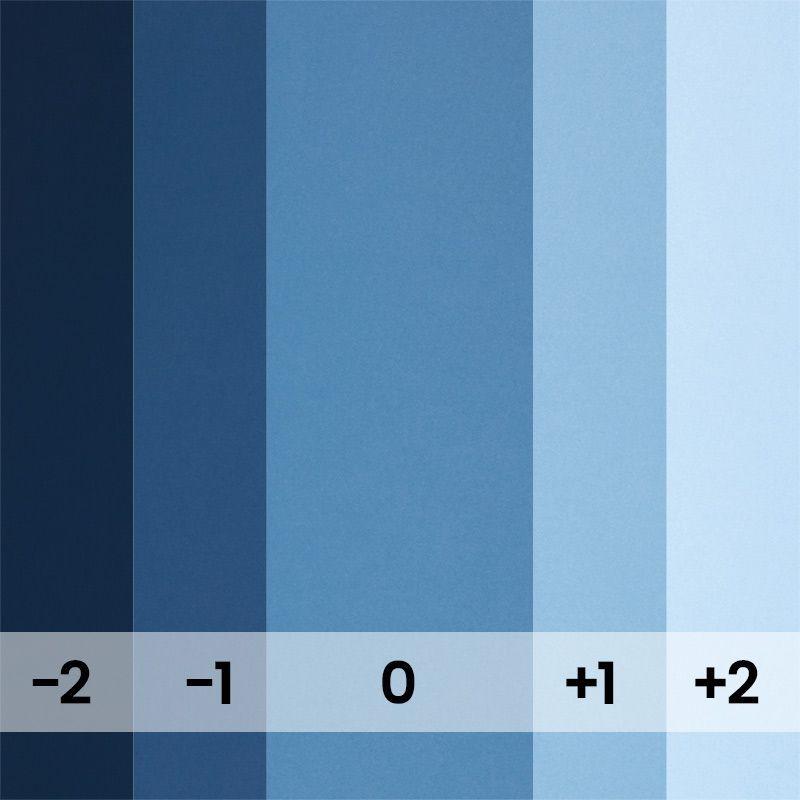 Fond papier bleu Regatta Blue - 126 BD