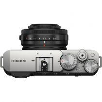 FUJIFILM X-E4 silver + XF 27 mm f / 2,8 R WR (silver)