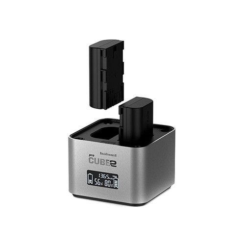 HAHNEL PROCUBE2 Chargeur pour batteries Canon LP-E6 / LP-E8 / LP-E17