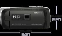 HDR-PJ410 NOIR + MICRO SD16GO