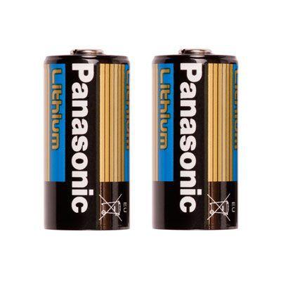 Ikelite 2 piles CR123 pour lampe Gamma