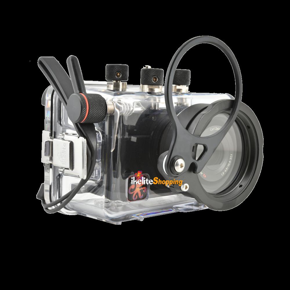 Ikelite flip porte lentille 67mm pour caisson compact