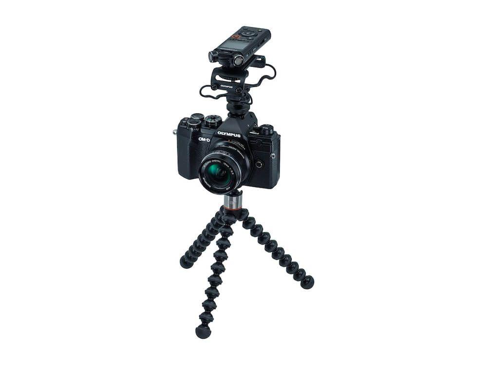 kit vlogger E-M5 Mark III + 12mm F2.0 + LS-P4