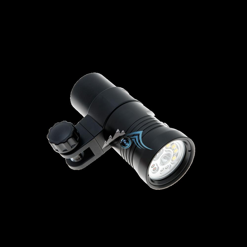 Lampe 2400 Lumens, vidéo, photo, rouge et UV