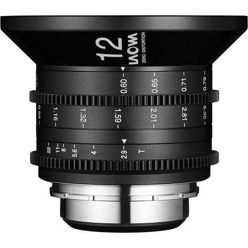 Laowa 12mm T2.9 Zéro-D Cine Métrique PL