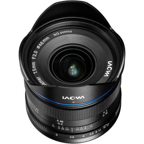 LAOWA 7,5 mm f/2 pour micro 4/3