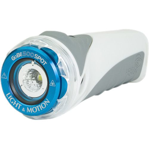 Light & Motion GoBe 500 Spot Blanc/Gris