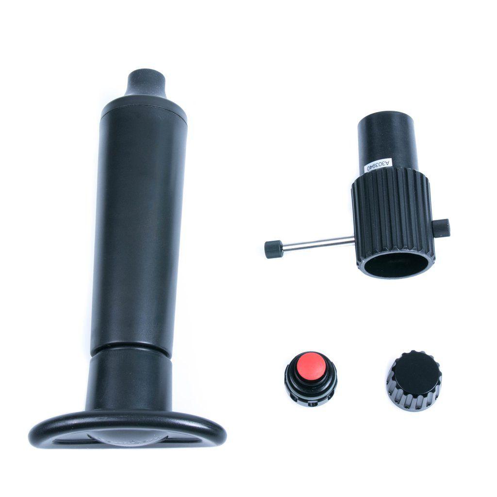 M16 vacuum valve Type II avec bouton poussoir nauticam