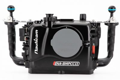 NA-BMPCCII caisson pour Blackmagic Pocket Cinema (Incl. vacuum  4 x porte batterie 18650 )