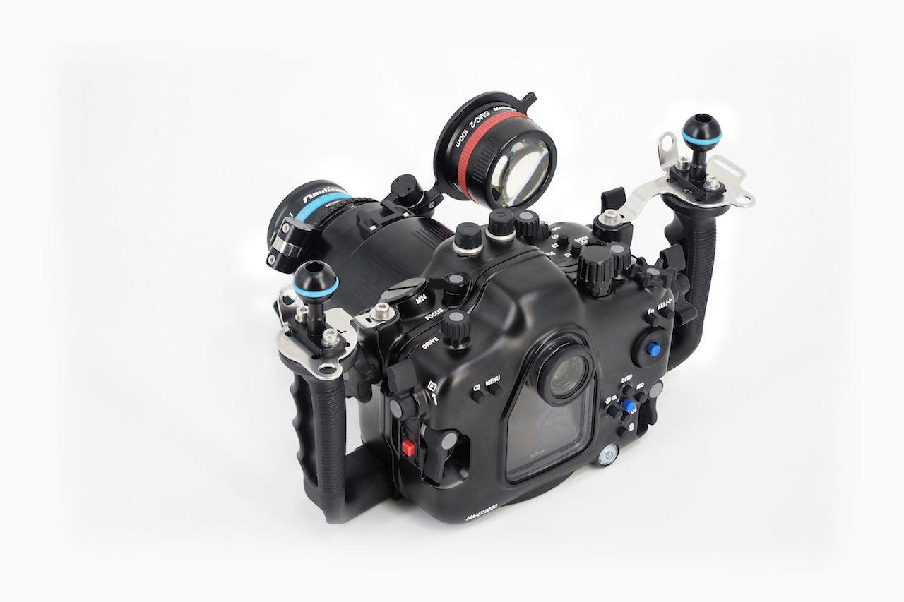 Nauticam caisson pour Sony Alpha 9 II / A7R IV (avec support HDMI 2.0)