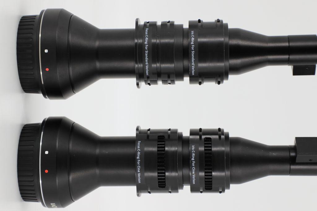 Nauticam Cinema System hublot et bague pour Laowa 24mm f/14 2X Macro Probe