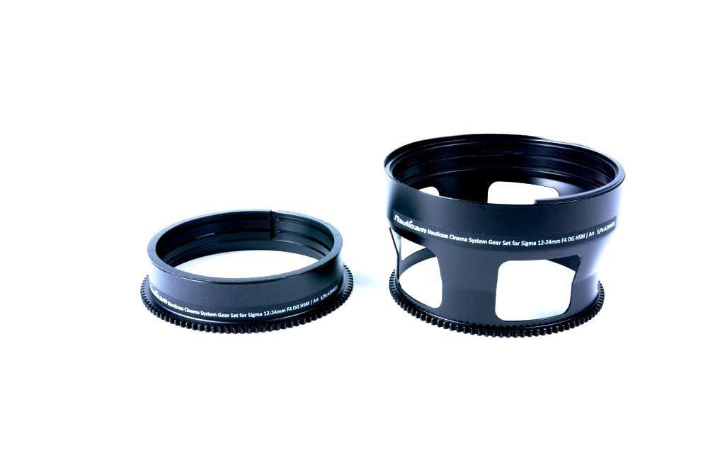 Nauticam Cinema System Jeu de bagues pour Sigma 12-24mm F4 DG HSM | Art