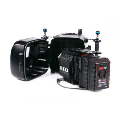 Nauticam Epic LT avec batterie arrière étendue (hublot N120, Dual PagLink PL96 et écran LCD RedTouch 5 pouces)