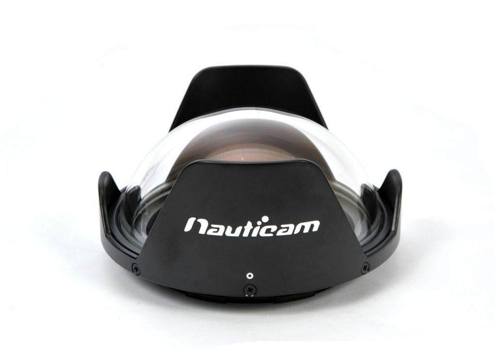 Nauticam hublot Fisheye en verre 140mm avec possibilité d\'enlever le part-soleil pour N120