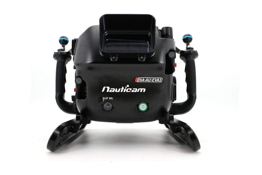 Nauticam NA-EVA1 caisson pour camera de cinéma Panasonic AU-EVA1 5.7K SUPER 35