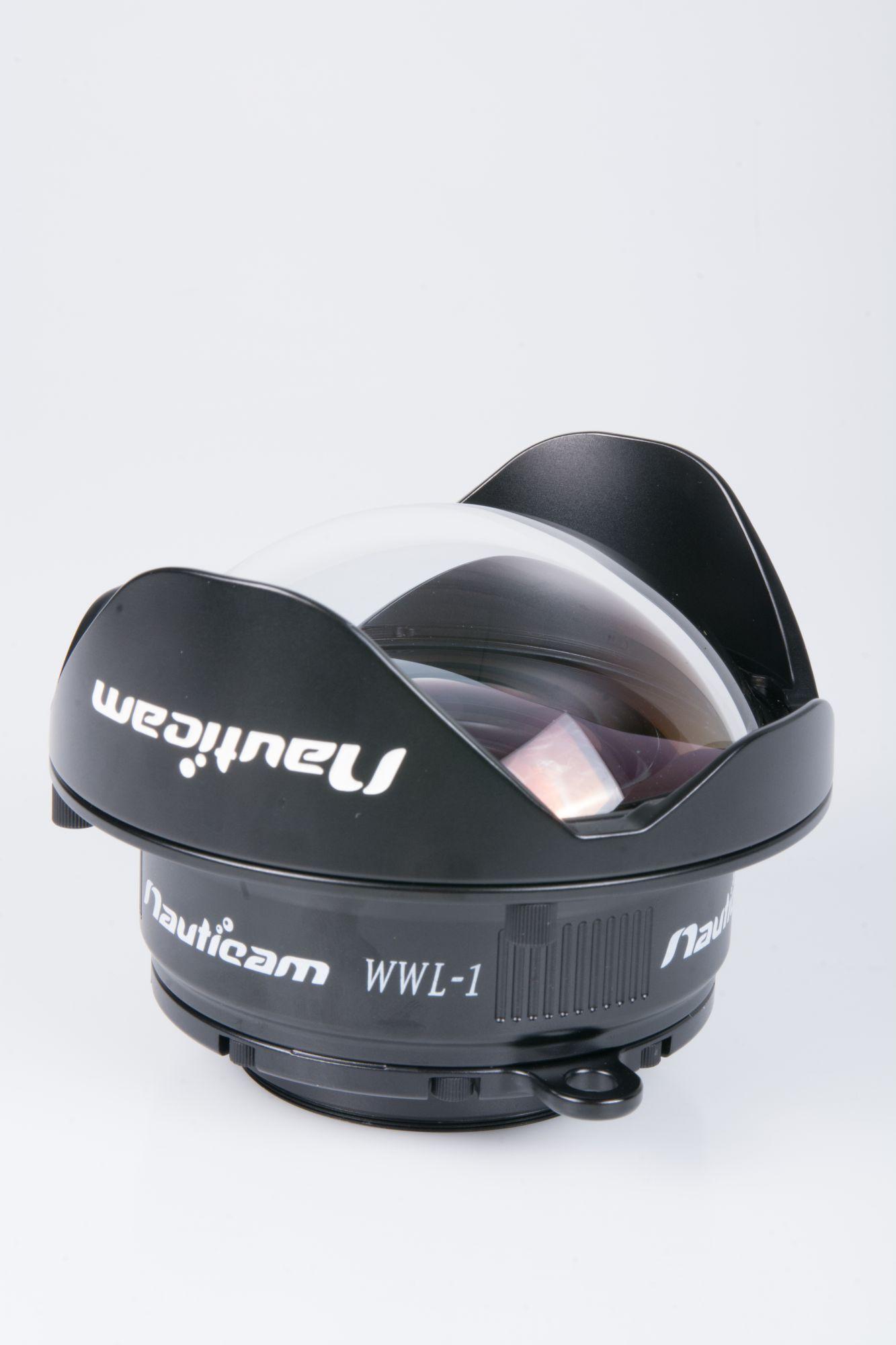 Nauticam WWL-1 grand angle 130° humide