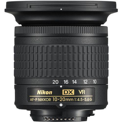 Nikon AF-P DX 10-20mm f/4.5-5.6G VR NIKKOR