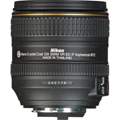 NIKON AF-S DX 16-80 mm F 2,8-4 E ED VR