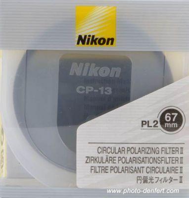 Nikon filtre polarisant circulaire en 67 mm