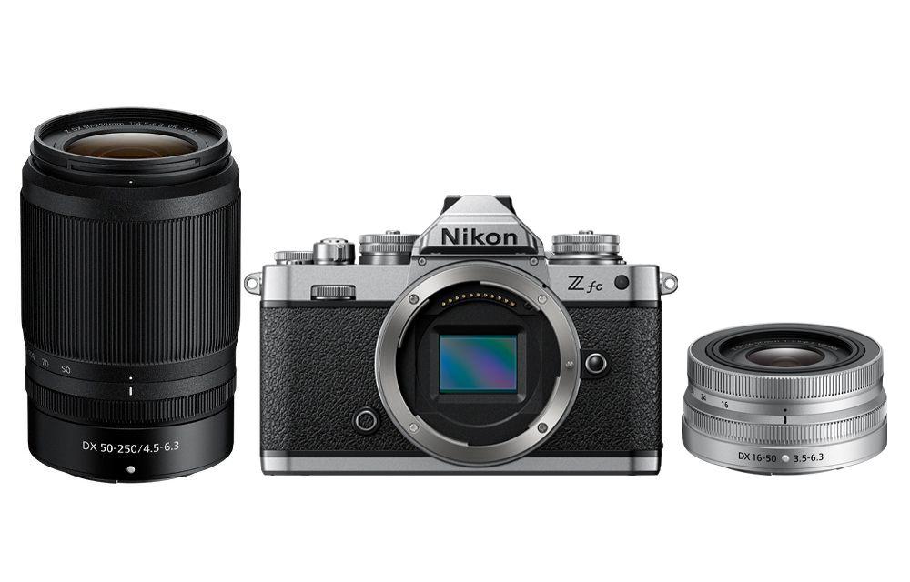Nikon Z fc + Nikon Z 16-50 + 50-250