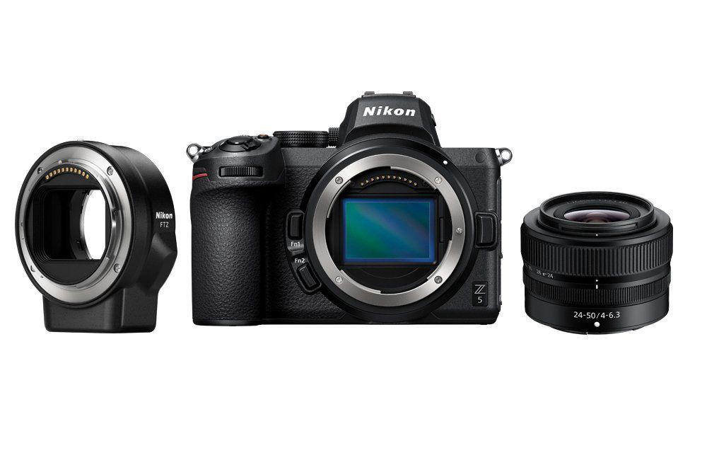 Nikon Z5 + 24-50 mm f/ 4-6.3 + FTZ