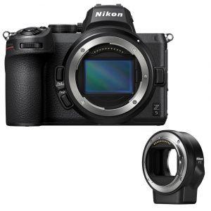 Nikon Z5 + bague d\'adaptation FTZ