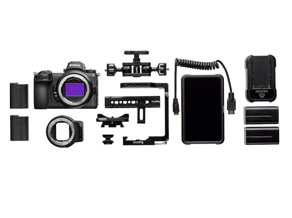Nikon Z6 II FTZ filmmaker Ninja V
