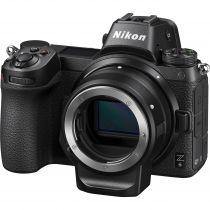 Nikon Z6 mirrorless avec adaptateur FTZ