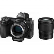 Nikon Z7 mirrorless avec adaptateur FTZ et Z 24-70mm f/4 S
