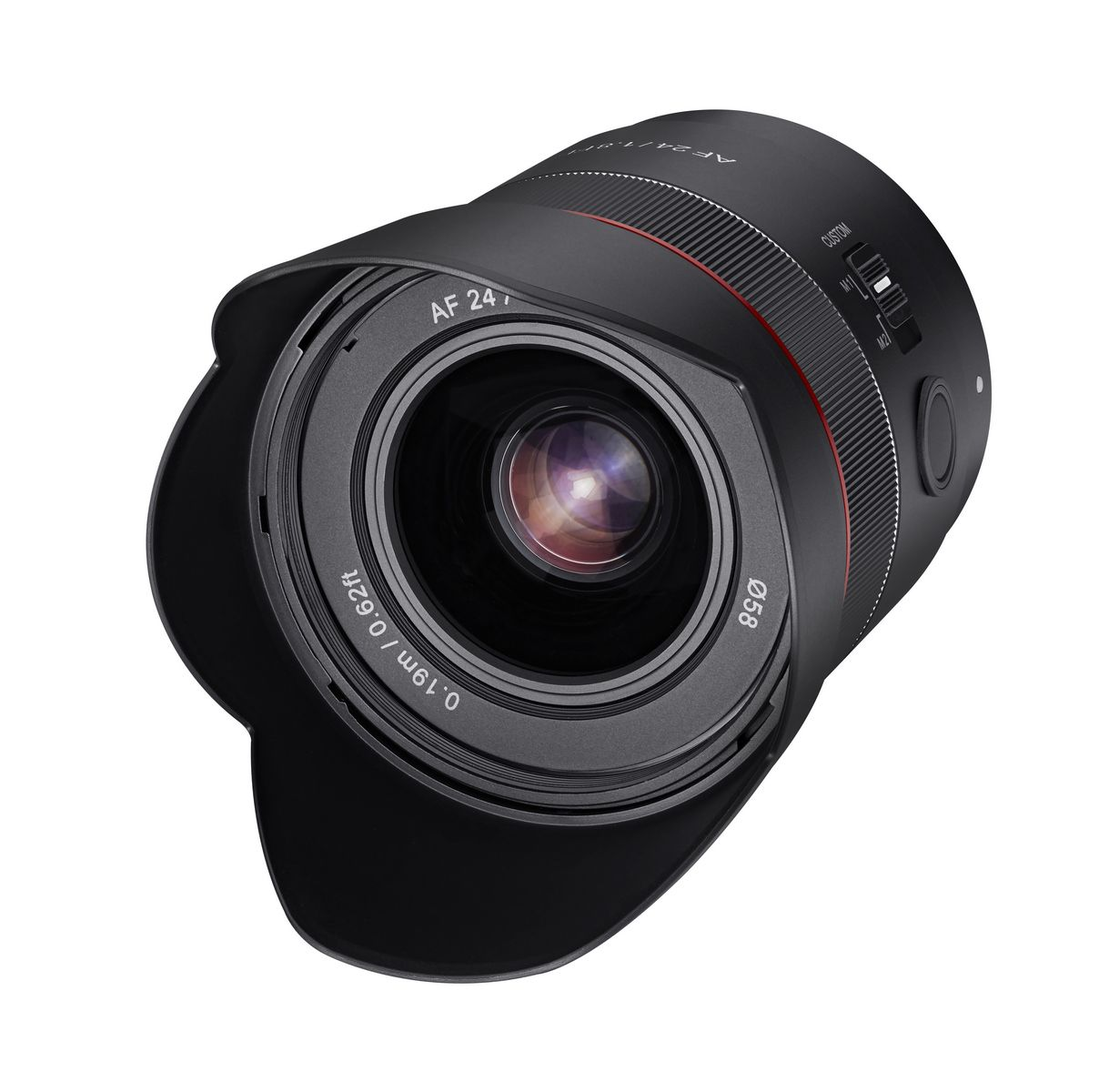 Objectif Samyang 24mm f / 1.8 AF Compact pour Sony E