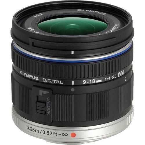 Olympus 9-18 mm f/4-5,6 ED Noir
