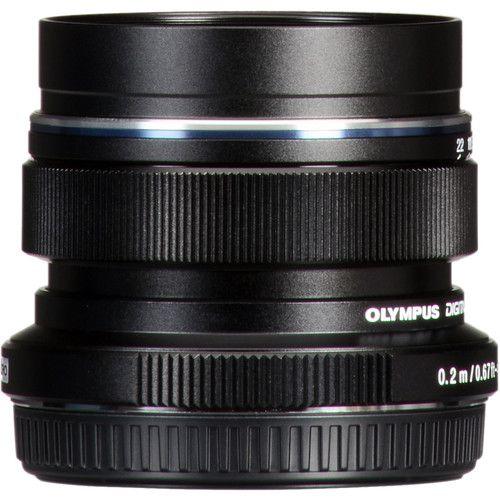 Olympus M.Zuiko Digital ED 12 mm f / 2 (noir)