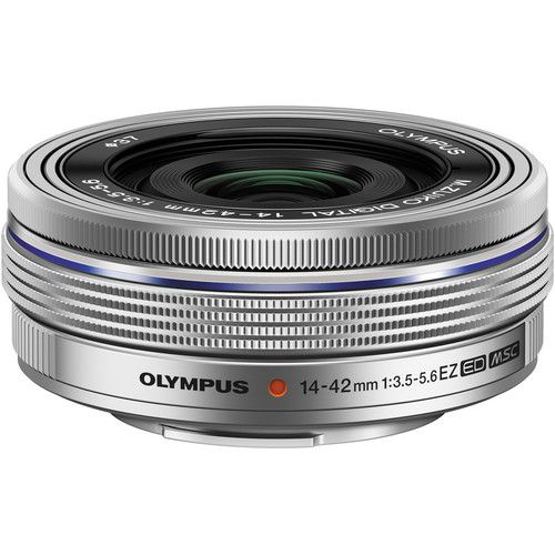 Olympus M.Zuiko Digital ED 14-42 mm f / 3.5-5.6 EZ (Silver)
