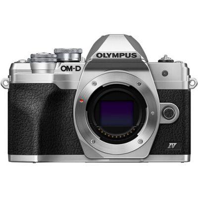 Olympus OM-D E-M10 Mark IV silver