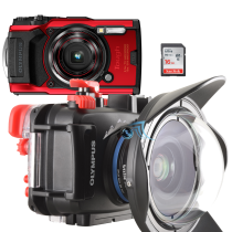 Olympus pack TG6 avec caisson PT059, SD16, ultra grand angle WFL02