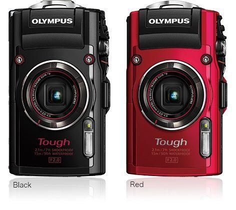 Olympus TG-4 Rouge/Noir