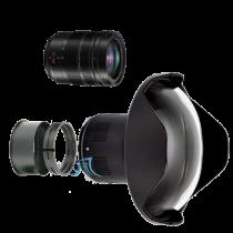 Pack Panasonic 12-60mm f/2,8 avec dôme et bague zoom Nauticam